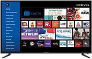 Kevin 124 cm (49 inches) 4K Ultra HD Smart LED TV KN49UHD-PRO (Black) (2019 Model)