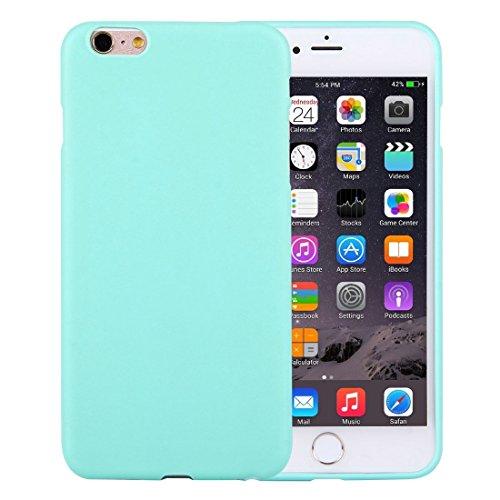 Phone Case Coque cover, Pour iPhone 6 / 6s, boîtier de protection TPU solide sans trou rond ( Color : Black ) Green