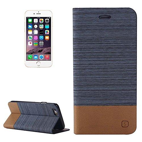 Phone case & Hülle Für IPhone 6 Plus / 6S Plus, Horizontal Flip Canvas Ledertasche mit Card Slot & Halter ( SKU : S-IP6P-0886E ) S-IP6P-0886C