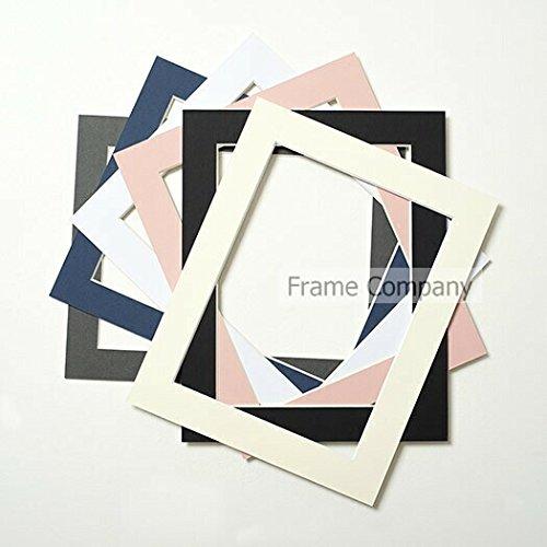 Set di 10cornici portafoto da montare Bianco, bianco, 14x11 for image size 12x8