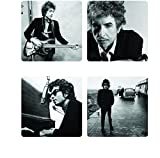 Bob Dylan 4 Piece Coaster Set
