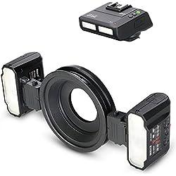 Meike Bague Flash Macro Flash pour Nikon Digital SLR Flash prises en Macro Domaine-MK de MT24