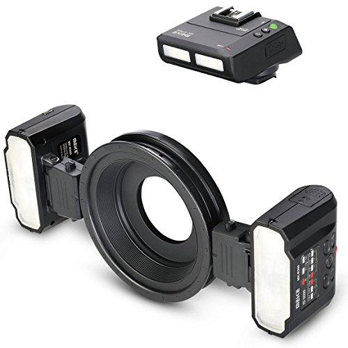 Meike Macro Ring Flash per fotocamere Nikon Digital SLR Blitz Scatti macro Area   MK CR MT24