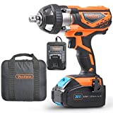 VonHaus Cordless Impact Wrench with 3.0Ah Li-ion 20V MAX Battery, Charger & Power