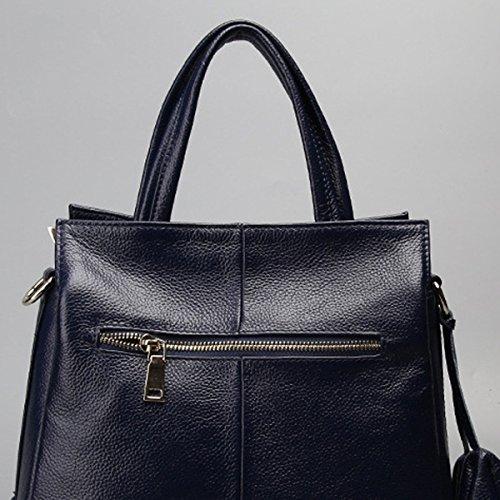 Pelle Delle Donne Faux Borse Messenger Bag Borse Delle Signore Multicolore Blue