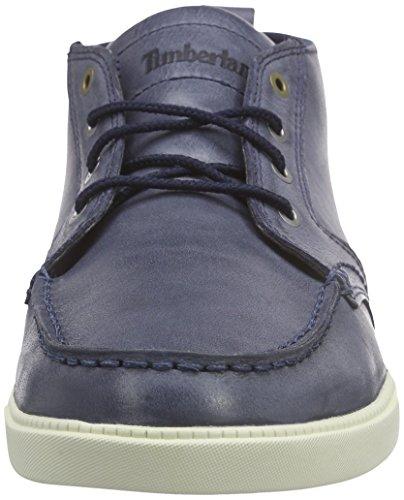 Timberland Newmarket_Fulk LP Chukka MT Leather, Bottines Chukka à tige courte homme Bleu (Navy)