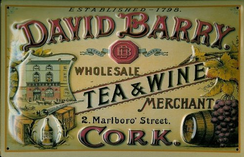 blechschild-nostalgieschild-david-barry-tea-and-wine-schild-werbeschild