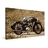 Premium Textil-Leinwand 75 x 50 cm Quer-Format Zündapp DB 200 | Wandbild, HD-Bild auf Keilrahmen, Fertigbild auf hochwertigem Vlies, Leinwanddruck von Ingo Laue (CALVENDO Mobilitaet)