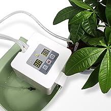 DIY Micro Drip Système d'arrosage automatique abreuver gouttelettes Kit d'arrosage avec tuyau 33ft pour plate-bandes, terrasse, jardin ou plantes en pot