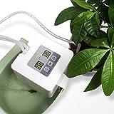 DIY Bewässerungssystem, Automatische Urlaubs Bewässerungsanlage Kit mit 33ft Schlauch für Blumenbeet, Terrasse, Garten oder Topfpflanzen
