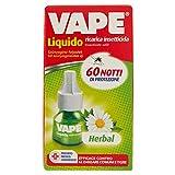 Vape - Herbal, Ricarica Insetticida - 2 ricariche da 36 ml [72 ml]
