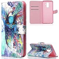 ZCXG Galaxy A6 Plus 2018 Hülle,Handyhülle Samsung Galaxy A6 Plus 2018 Hülle Leder 3D Magnet Flip Cover [Klappbar... preisvergleich bei billige-tabletten.eu
