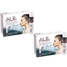 ALP BEAUTY - colágeno y ácido hialurónico liquido 28x25 ml antiarrugas y anticelulitico tratamiento con proteina de colageno biotina glucosamina zinc vitaminas