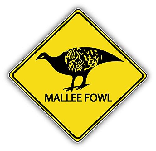 malee-fowl-warning-sign-decor-autocollant-de-voiture-vinyle-12-x-12-cm