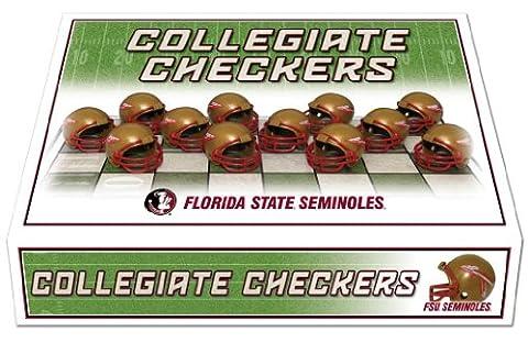 NCAA Florida State Seminoles Miniature Helmets Checker Set