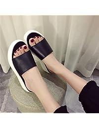 Qingchunhuangtang@ Pantofole Antislittamento Con Fondo Piatto Pantofole In Estate Cool…