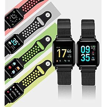 Meiqils 2019 Nuevo Smartwatch Cargador Magnético Pantalla ...