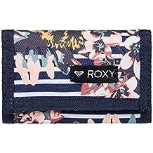 a3c622fa5 Roxy Small Beach Cartera de Dos Secciones, Mujer, Blanco/Azul (Medieval Blue