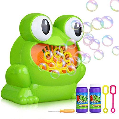 CMCL Macchina Bubble Bubble, Macchina Bubble Blower Automatica Oltre 500 Bollicine Al Minuto Per Bambini, Feste Di Compleanno, Giochi Al Coperto E All'aperto