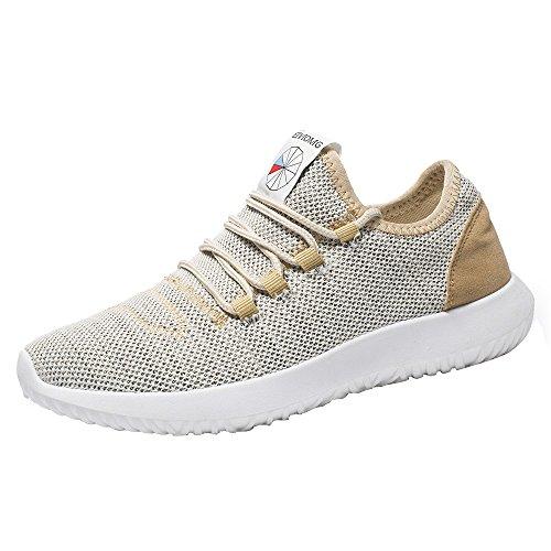 Schuhe Herren Sportschuhe Sneaker Running Wanderschuhe Outdoorschuhe Boots Stiefel Männer Mesh Round Breathable Flache Turnschuhe Laufschuhe Freizeitschuhe