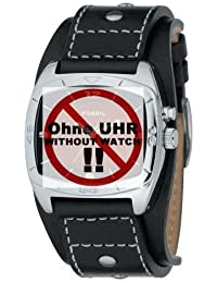 Fossil Herren-Armbanduhr AM3696 Lederband