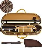 Steinbach 4/4 Geigenkoffer elegante Form im Herzdesign mit Zierborde