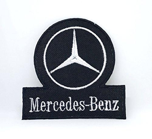 Parche bordado vintage Mercedes-Benz Racing Formula 1 para coser o planchar