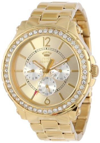 Juicy Couture Femme 1901082 Pedigree Gold Plated Bracelet Montre
