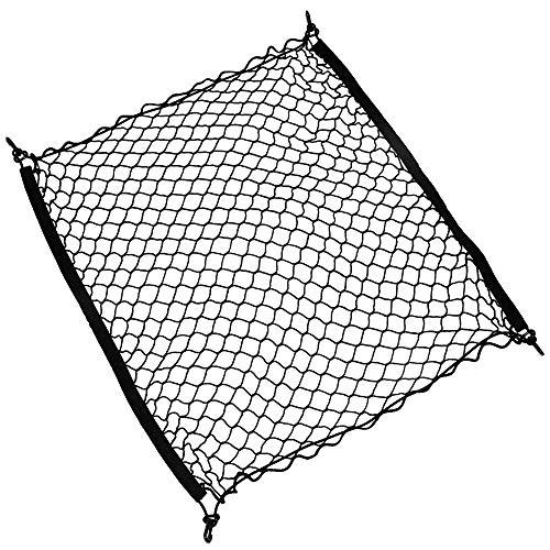 Yunjiadodo 100x 100cm universale per sedile posteriore in rete per bagagliaio organizzatore bagagli swing mesh nets holder