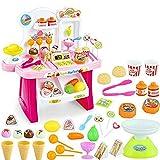 #10: Bighub 34 Pcs Kids Mini Market, Supermarket Pretend Toy