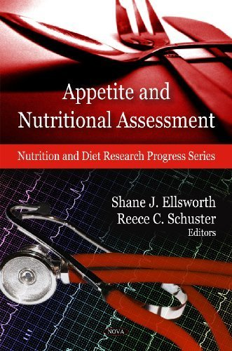 Appetite and Nutritional Assessment (Nutrition and Diet Research Progress Series) by Shane J. Ellsworth (2009-09-15) par Shane J. Ellsworth