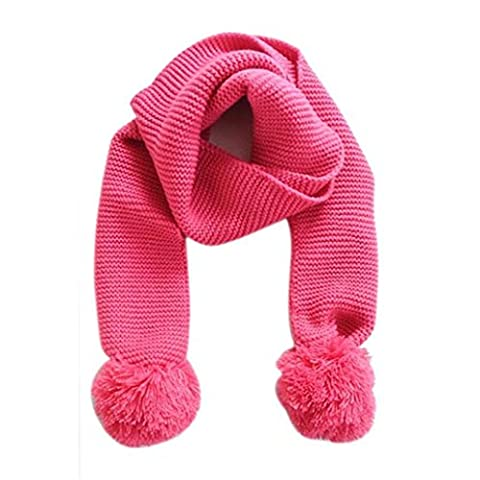 Baby Knitted Scarf Neck Warm, VENMO Solid Color Winter Scarf