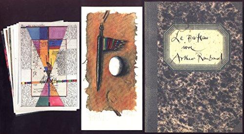 Das trunkene Schiff. Bateau ivre Arthur Rimbaud 1871. Mit farbigen Collagen und einem signierten Druck von Ruth Tesmar / Deutsch (Sonderdruck) (Autogramm Collage)