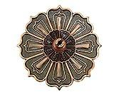 Mackur Lotus-Incensario Vintage Style-Incensario Metal Ceniza atrapasueños Mosquito Coil...
