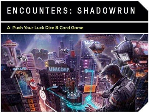 Catalyst Game Labs cat27750-Juego de Cartas Shadow Run: Encounters