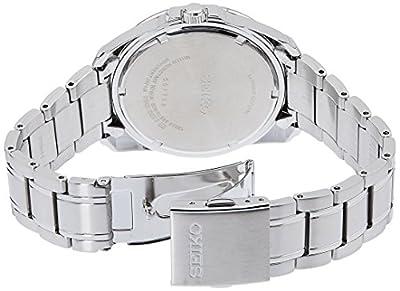 Seiko Reloj Analógico para Hombre de Cuarzo con Correa en Acero Inoxidable SGEH47P1 de Seiko