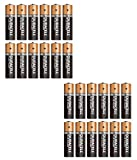 Duracell Plus Power (Duralock) Type AA Alkaline Batteries, Pack of 24 (Shrink Wrapped)
