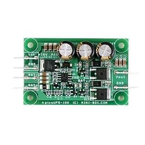 Mini-Box picoUPS-100 12V DC micro UPS system / battery backup system