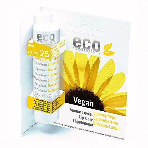eco cosmetics Lippenpflegestift LSF25 (bio, vegan)