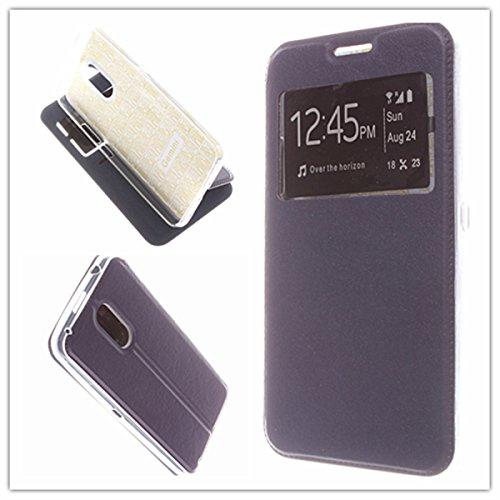 MISEMIYA - Hüllen Taschen Schalen Skins Cover für Ulefone Gemini - Hüllen, Cover Magnet Sport,Blau