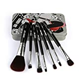 Daysing 4 pcs Make-up Pinsel-Sets Schminkpinsel Kosmetikpinsel Rougepinsel Augenbrauenpinsel Puderpinsel Lidschattenpinsel,Valentinstag, Freundin,Tanzparty, Mode