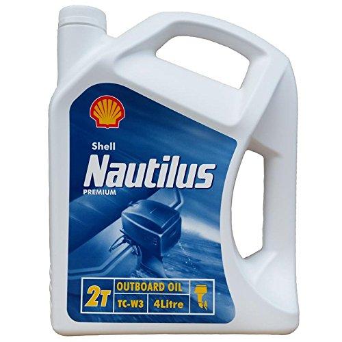 Preisvergleich Produktbild Shell Nautilus Premium TC-W3 4 Liter,  Zweitaktmischöl Bootsmotorenöl,  TCW3