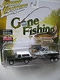 1969 Chevrolet Blazer + Boot / Trailer - Johnny Lightning Fishing 1:64