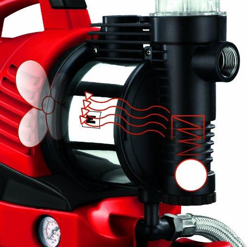 Einhell Hauswasserwerk GE-WW 9041 E (900 W, 4100 l/h, max. Förderdruck 4,8 bar, 20 l Behälter, ECO Power: mehr Fördermenge, weniger Stromverbrauch) - 3