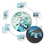atFolix Schutzfolie passend für Cubot S600 Folie, ultraklare & Flexible FX Bildschirmschutzfolie (3X)