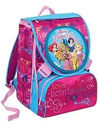 3bfc8136494 Trade Shop traesio® – Mochila Escolar Extensible Princesas Disney ...