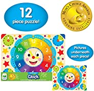 The Learning Journey Lift and Learn Clock Jigsaw Puzzle - 3 Years & A