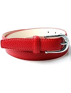 Accessoryo - Cinturón - cinturón - Básico - para mujer rojo rojo Talla única