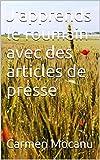 J'apprends le roumain avec des articles de presse...