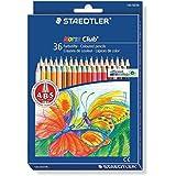 Staedtler 144ND36 Noris Club - Lápices de colores (36 unidades) [importado de Alemania]